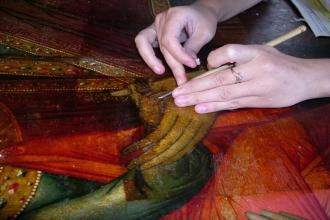 Реставрация музейного полотна