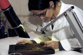 Процесс реставрации книги