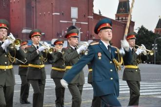 Марш военного оркестра