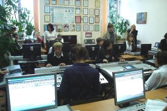 Занятия студентов-музыковедов