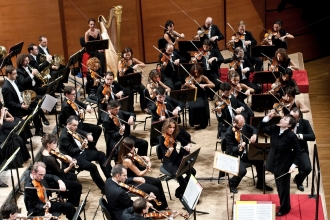 Выступление симфонического оркестра