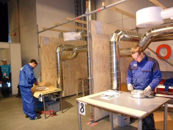 Обучение монтажников санитарно-технических и вентиляционных систем