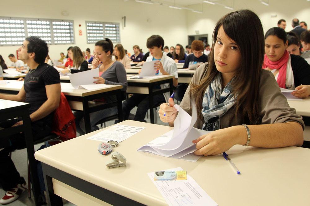 Студенты на лекции в итальянском вузе