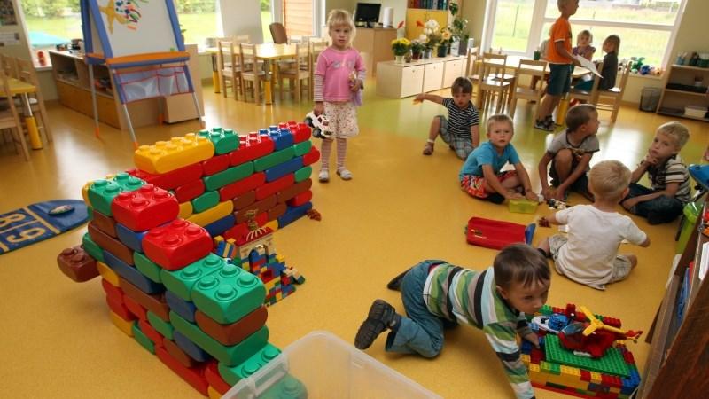 Австралийские дети в детском саду