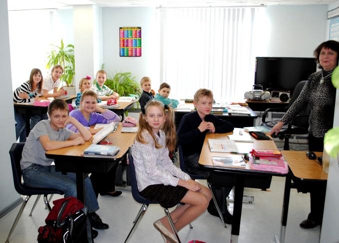 Австралийские дети в школе