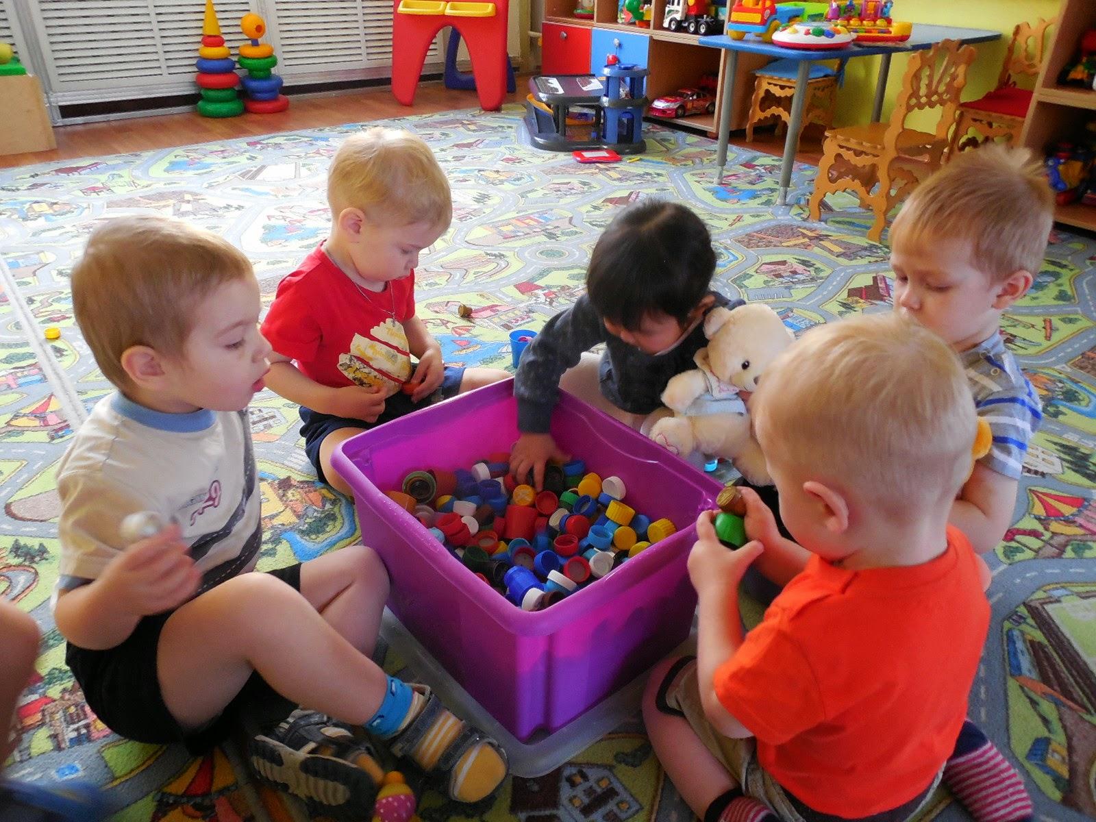 Дети в дошкольном учреждении Беларуси