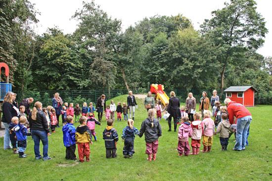 Дети в немецком детском саду