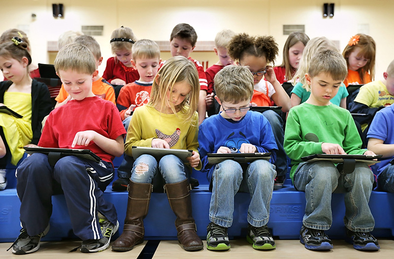 Американские дети в дошкольном образовательном учреждении