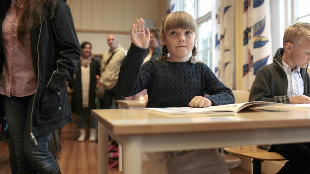 Ученица школы Германии