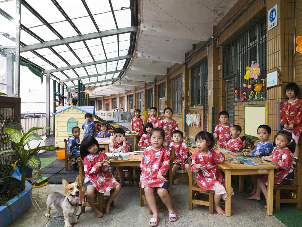 Дети в японском детском саду