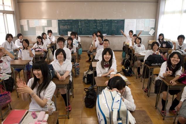 Ученики японской школы