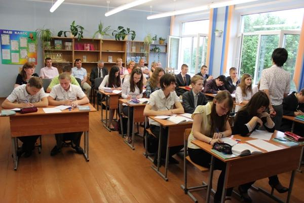 Занятия в Белорусской школе