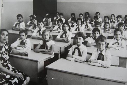 Ученики советской начальной школы