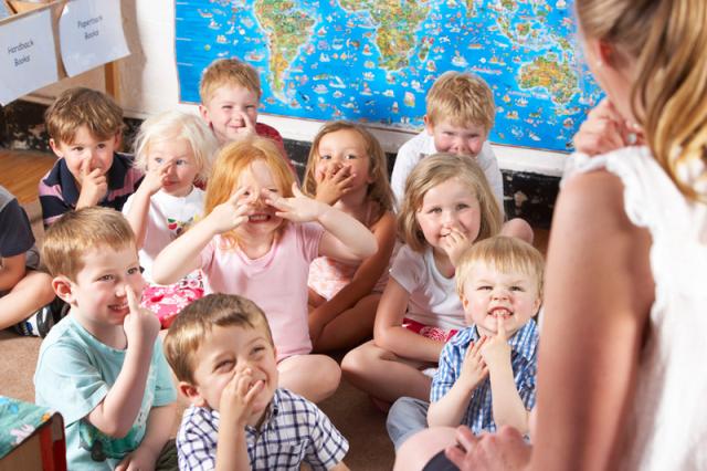 Малыши в шведском дошкольном учреждении