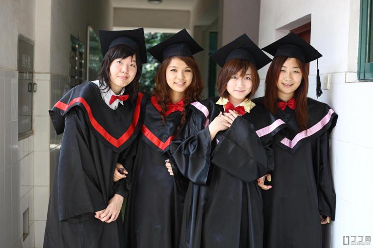 Выпускницы китайского вуза
