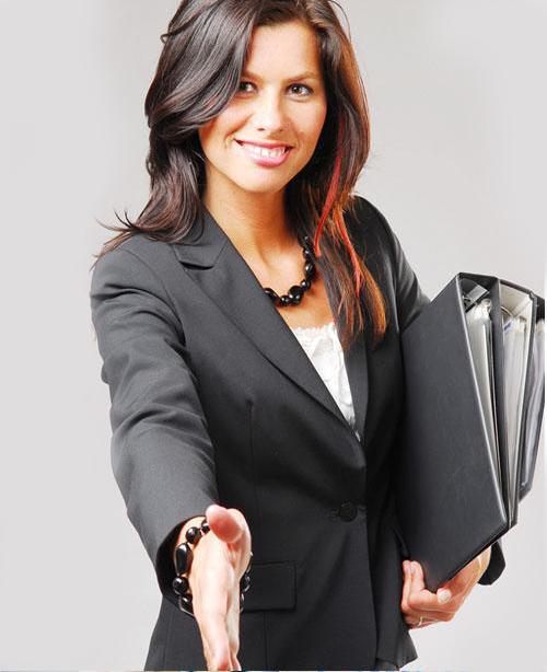 Девушка налоговый консультант