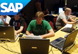 Люди на курсах обучения программе SAP
