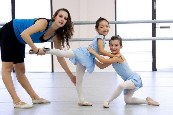 Детский хореограф за работой
