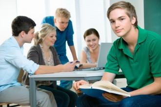 Группа студентов на занятиях