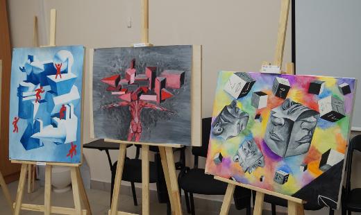 Картины начинающих художников