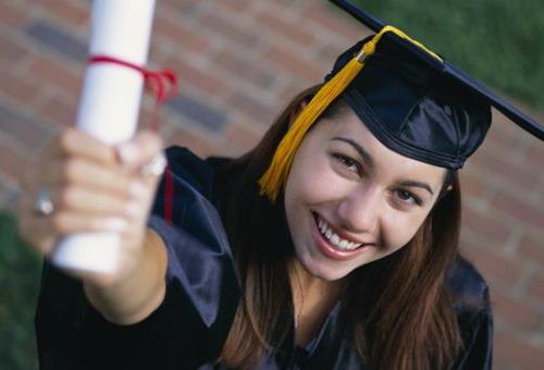 Выпускница магистратуры