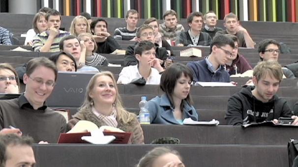 Лекция в институте