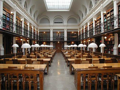 Библиотека университета в Британии