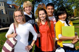 Ученики престижной австрийской языковой школы