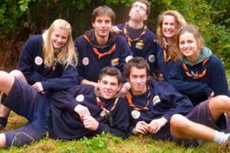 Старшеклассники в бельгийской школе