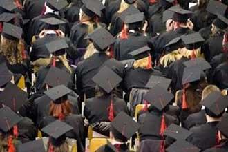 Канадские студенты в шляпах