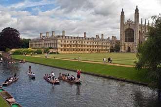 Лодочная регата в Кембридже