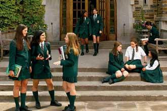 В частной школе в Канаде