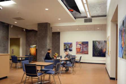 Зал в университете Berkley
