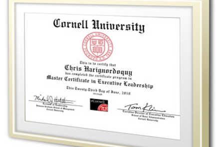 Сертификат eCornell
