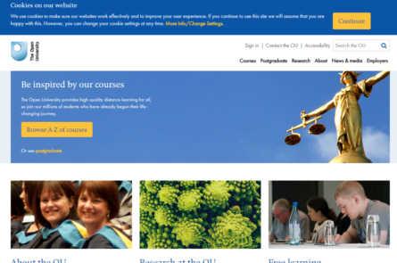 Главная страница Open University