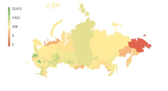 Посетители сайта StudyGlobe.ru по географии