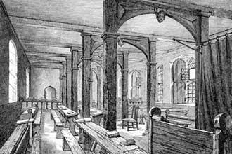 Рисунок старого Итонского колледжа