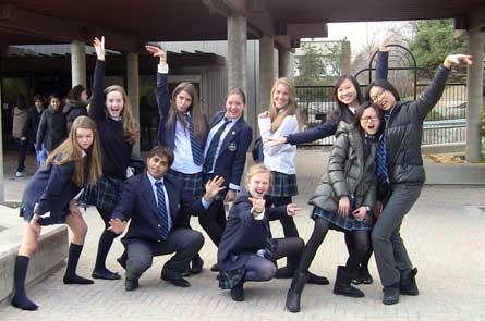 Ученики школы Appleby