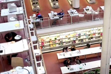 Занятия в библиотеке