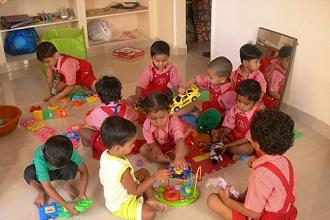 Индийские дети в детском саду