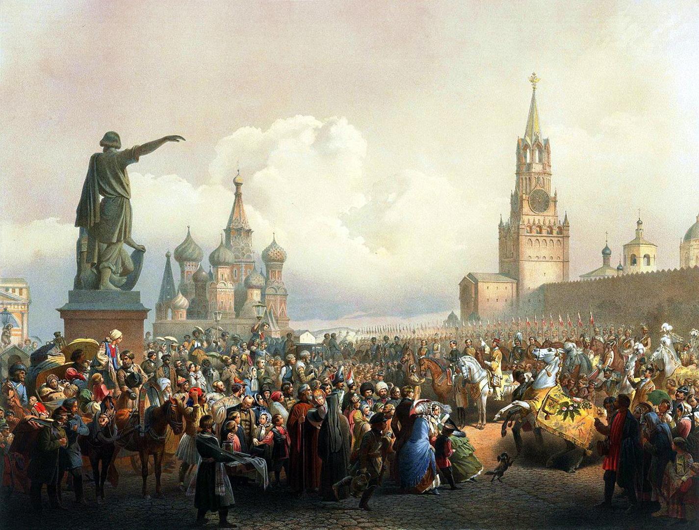 Российская империя на картине художника