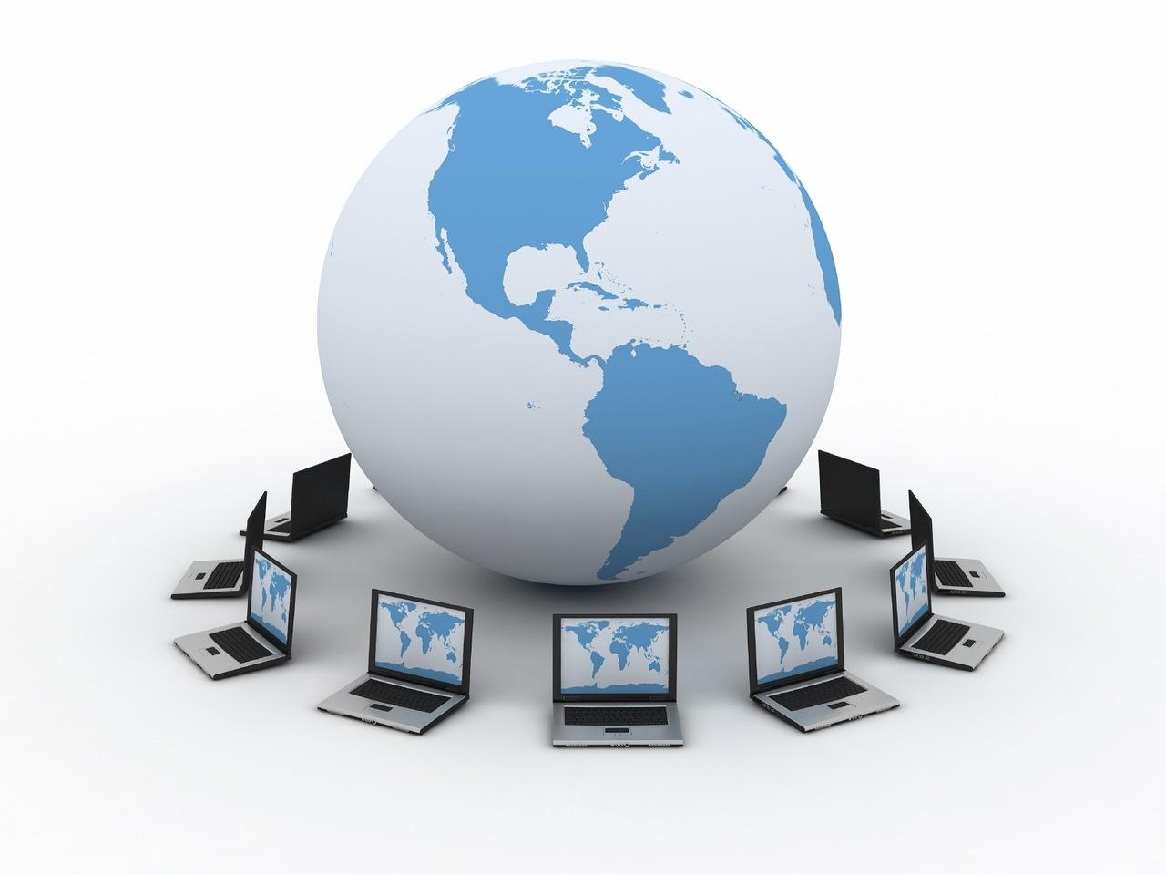 Модель Земли и ноутбуки